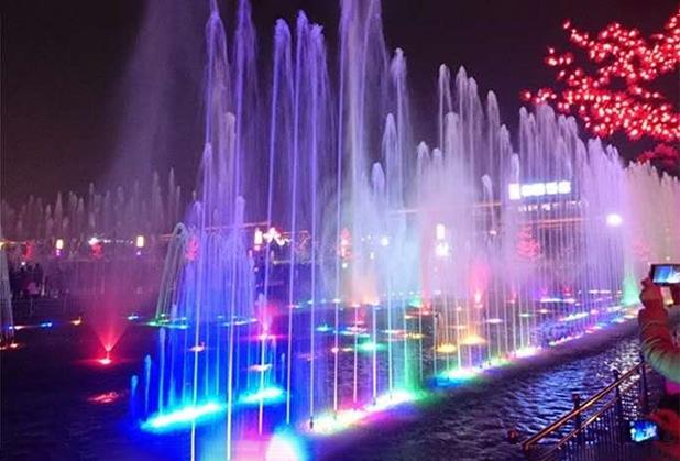 嘉耀喷泉设备施工安装成功案例