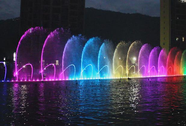 四川互动喷泉设计