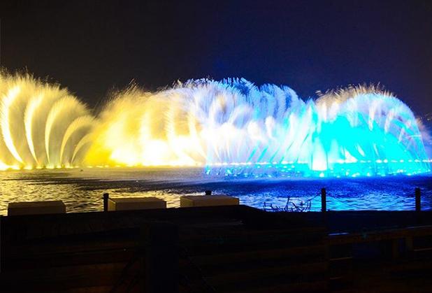 四川水景灯光秀