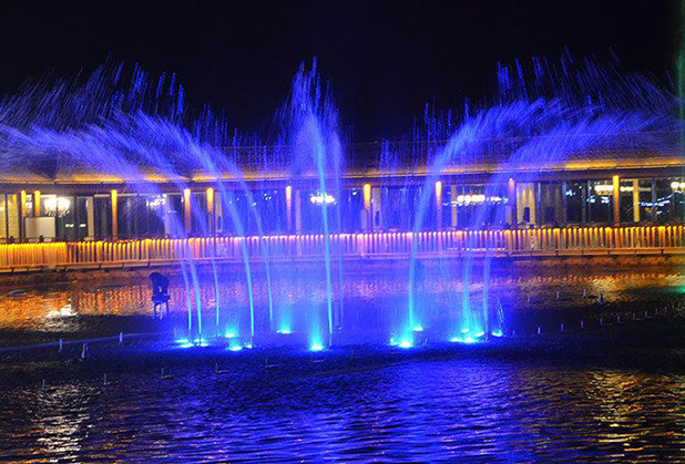 成都互动喷泉设计