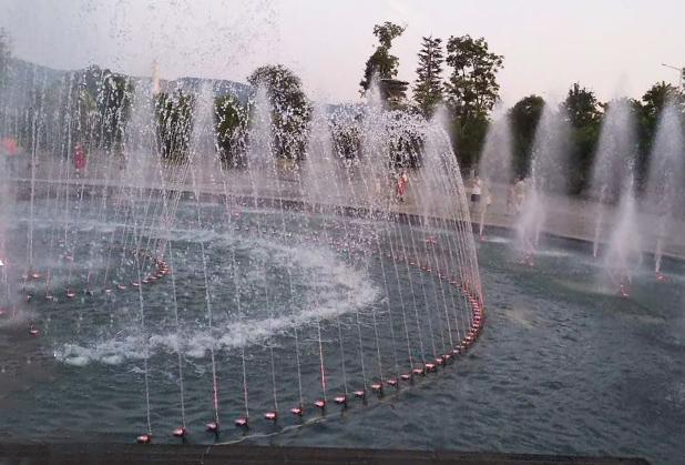 四川音乐喷泉安装