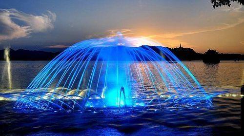 四川喷泉的方案设计与施工须知事项
