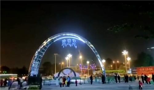 四川音乐喷泉展示