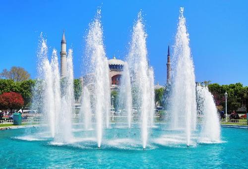 大型广场音乐四川喷泉公园旱式喷泉人工湖喷泉方案