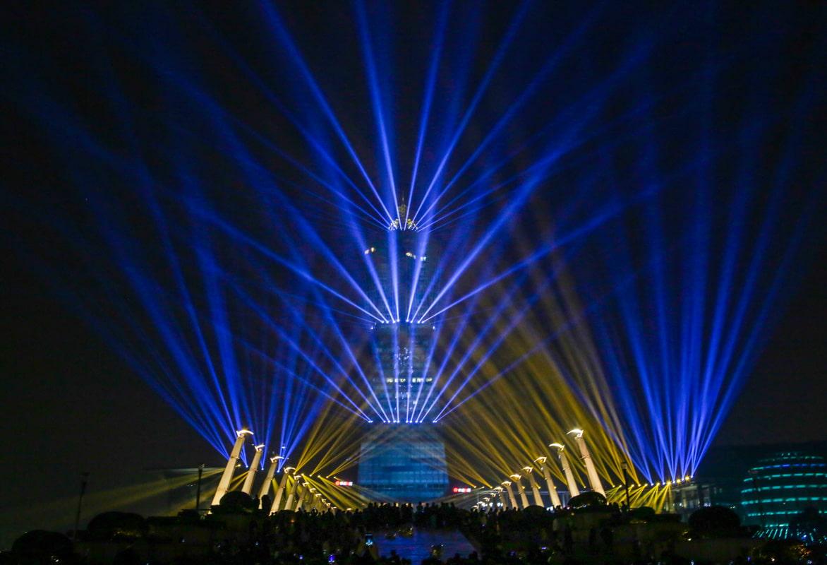 小知识——四川水景灯光秀的设计要点