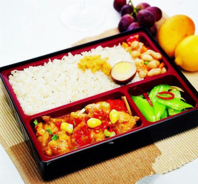西红柿鸡蛋米饭套餐