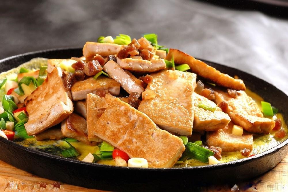 新乡铁板豆腐