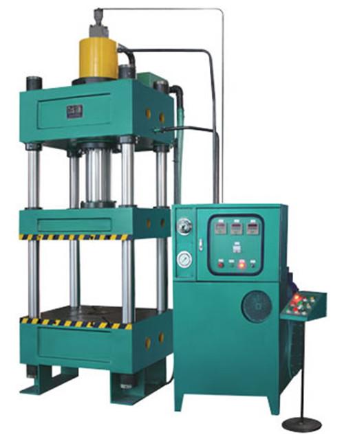 成都液压机液压系统工作原理