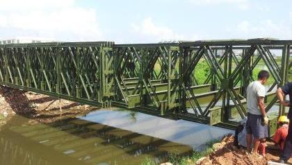 裝配式四川鋼便橋的安裝技術淺析