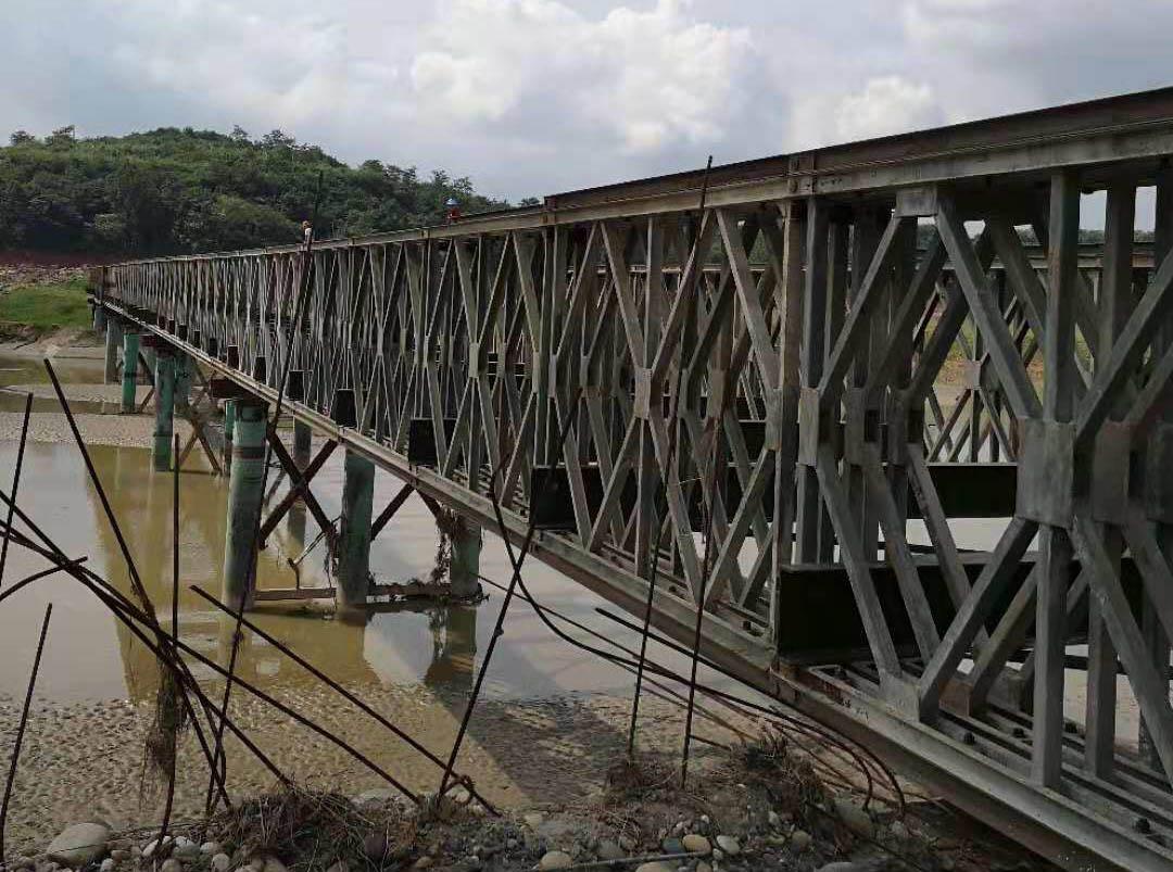 四川水利電力工程局金堂項目施工便橋