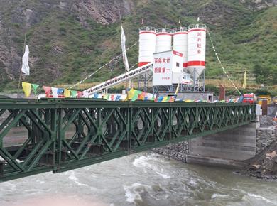 321型裝配式公路鋼橋27米三排加強型