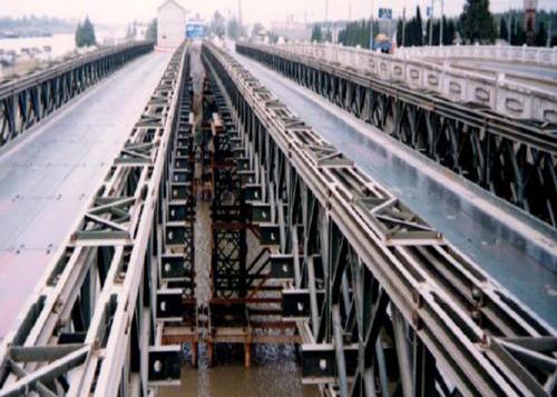 四川貝雷橋施工