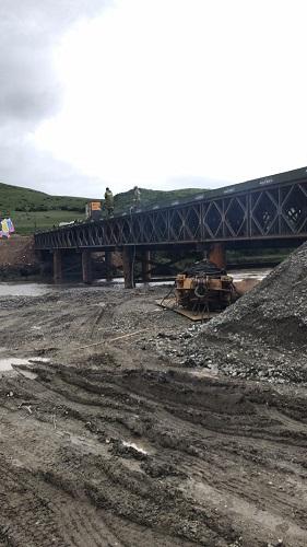 四川交投久馬項目鋼棧橋