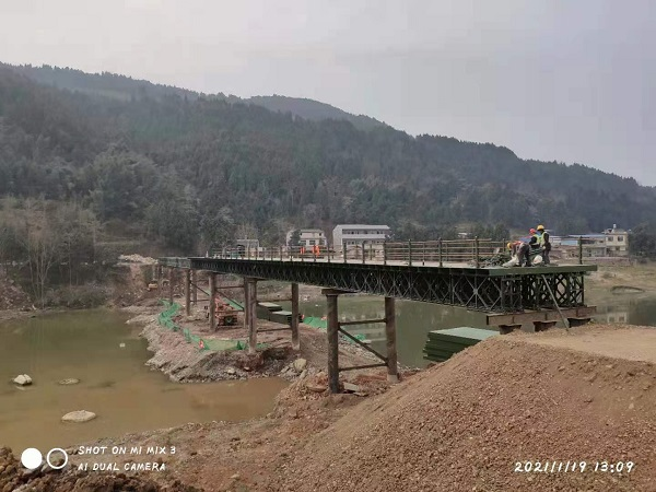 四川交投成綿復線鋼棧橋