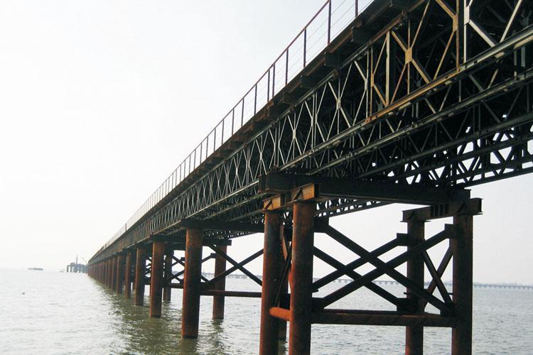 為什么公路搶險需要架設貝雷橋 ?