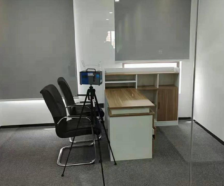 张家口某公司办公室甲醛检测