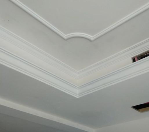 张家口保洁公司分享石膏线吊顶的保养与清洁方法