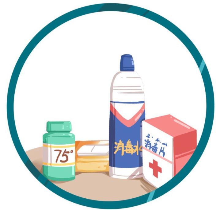 在使用消毒产品时要注意这五点