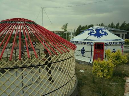 自住餐饮蒙古包  呼和浩特蒙古包厂家定做各种规格