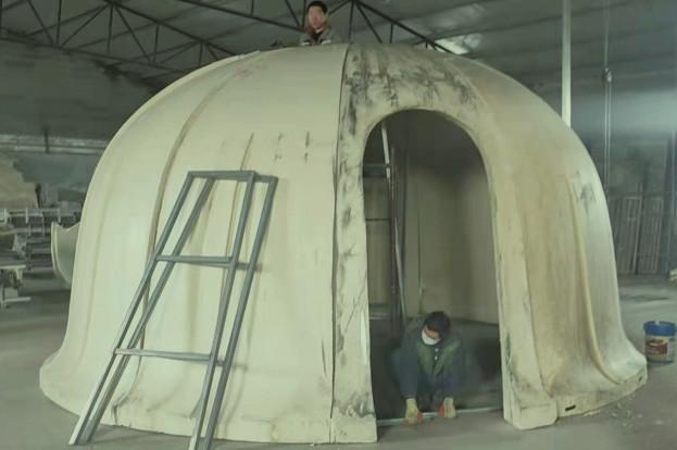 内蒙古装配式蒙古包