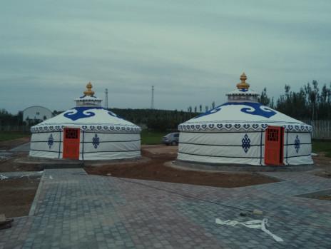 呼和浩特草原定制传统蒙古包