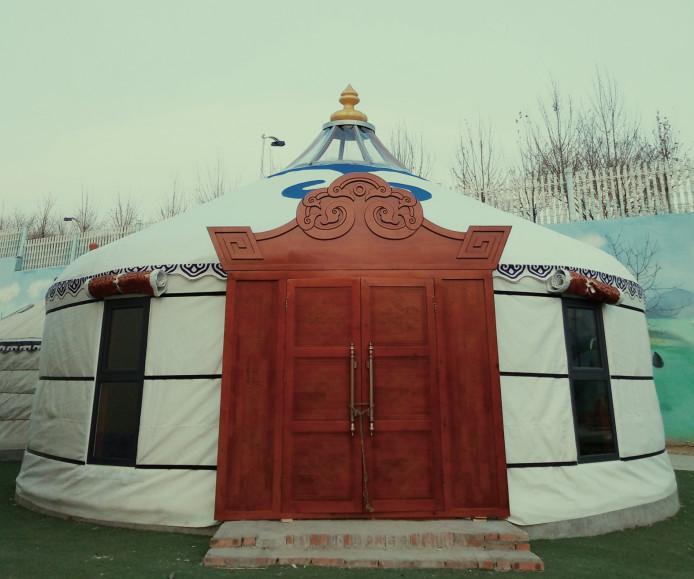 鄂尔多斯蒙古包  餐饮户外饭店酒店住宿蒙古包