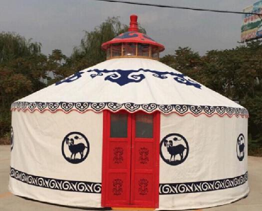 不同颜色的蒙古包代表什么意义?