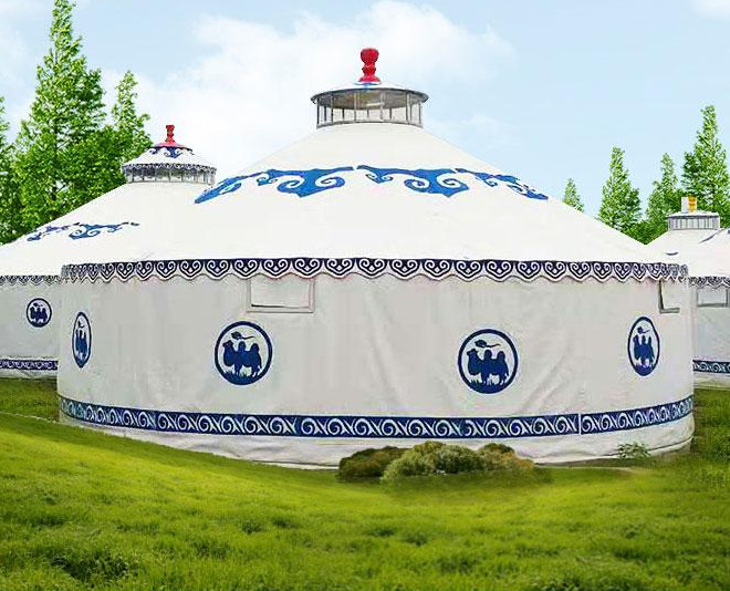 建造一个直径5米蒙古包帐篷大概需要多少钱?