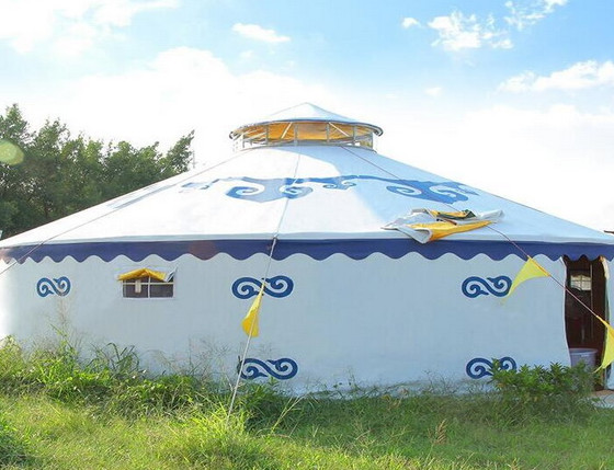 蒙古包和牛毛帐篷的受力结构