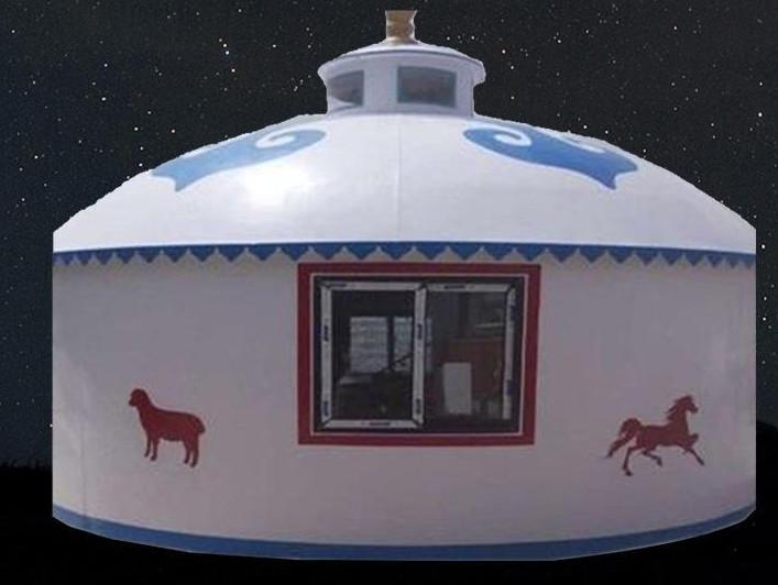 蒙古包体现了蒙古族的社会文化特征
