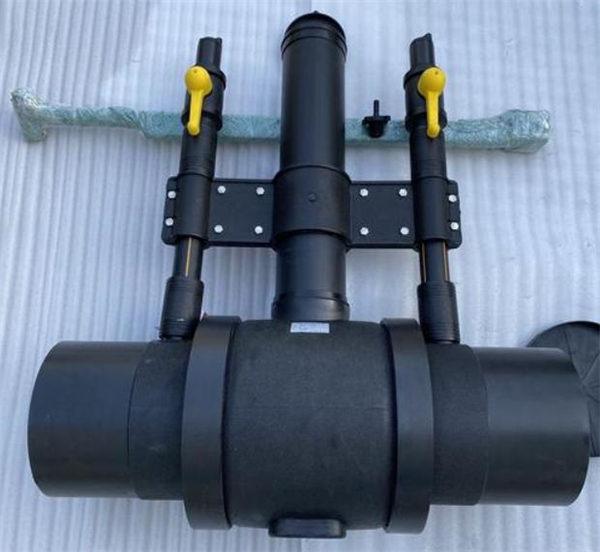 西藏燃气用PE球阀管件