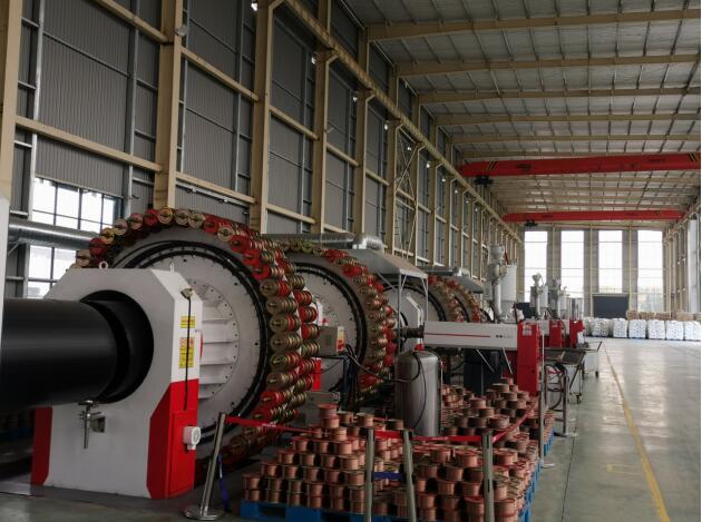 西藏钢丝网骨架(聚乙烯)复合管材