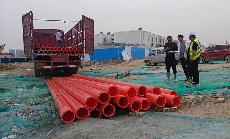 西安城中村改造MPP电力导管