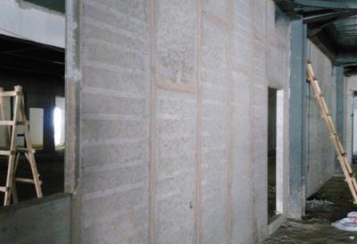 西安工业大学钢构楼-西安复合隔墙板