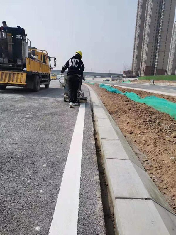 陕西划线喷涂施工