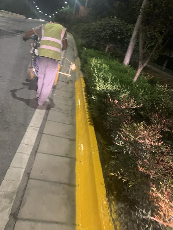 陕西道路划线喷涂