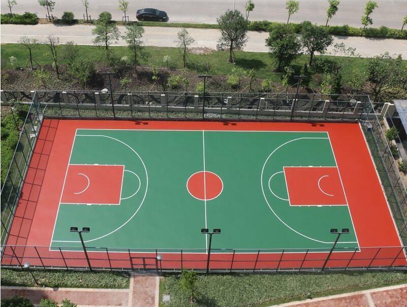 你了解硅PU球场面层的施工方案吗?陕西塑胶跑道厂来分享