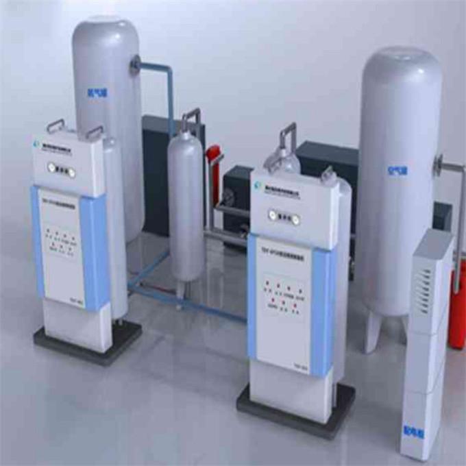 张家口医用中心供氧系统安装