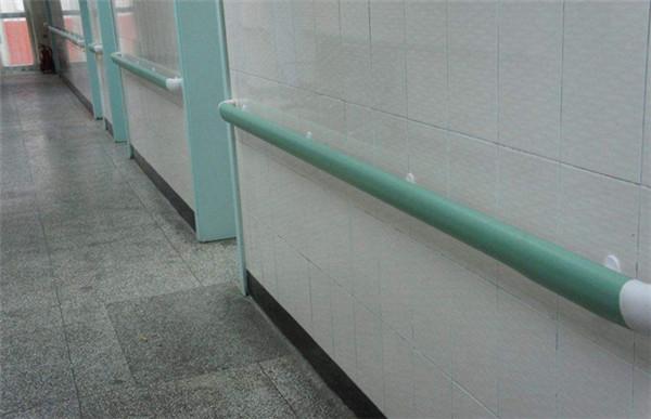 张家口医用走廊扶手 病房走廊靠墙扶手厂家