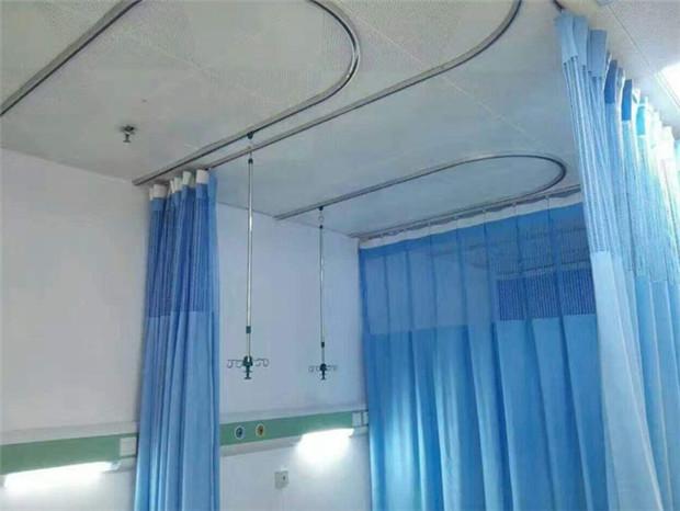 医院吊轨吊杆隔帘安装