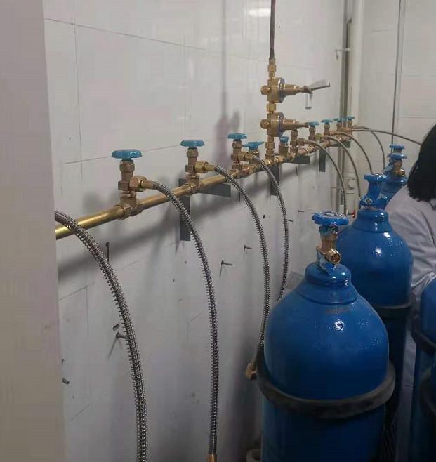 张家口一医院中心供氧系统安装施工图