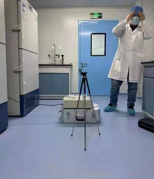 河北某医院pvc防静电胶板施工完工