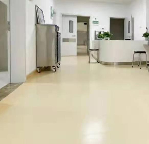 保定医院耐磨塑胶地板 养老院pvc地板