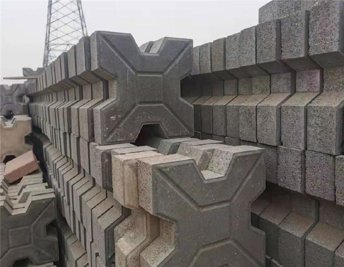 多功能生态绿化混凝土草坪植草砖