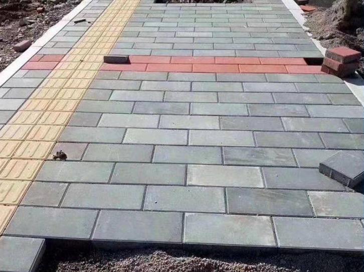 彩色便道砖铺装施工方法!便道砖的拆除方法!
