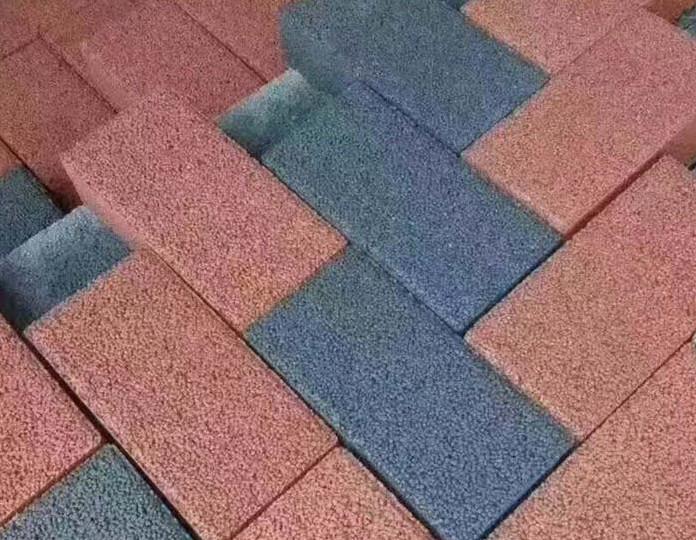 张家口面包砖生产厂家 人行道面包砖多色可选规格齐全