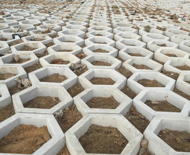 护坡砖的质量鉴别两个技巧