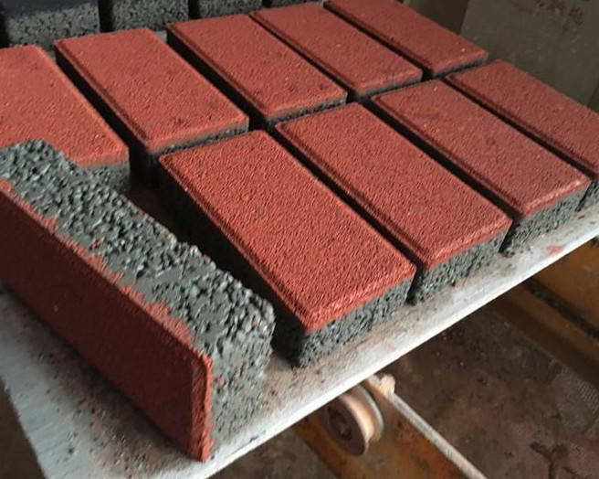 分享水泥便道砖的施工工艺流程