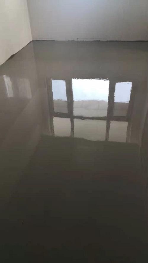 山大醫院交城分院自流平水泥施工