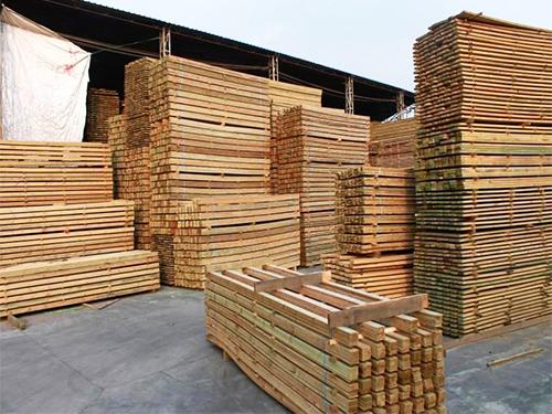 成都防腐木销售成功案例